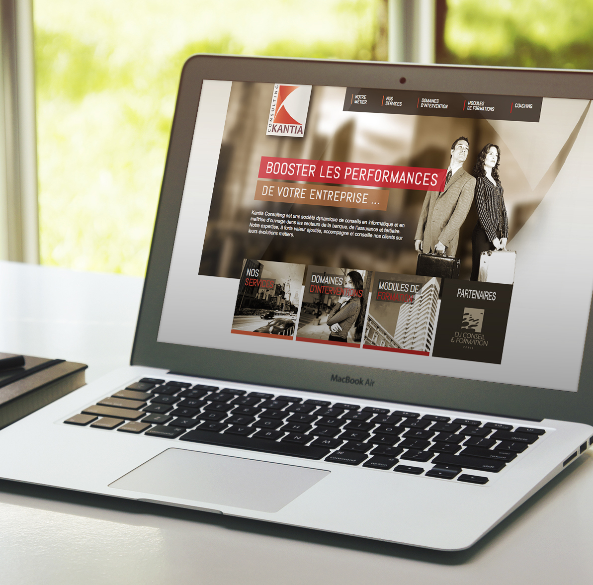 création site internet lille pour société consulting